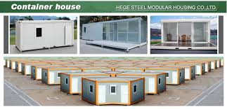 Container Homes Interior 10ft 20ft Detachable Container House Prefab Shipping Container