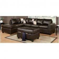 Brown Leather Sofa Bed Espresso Leather Sofa Foter