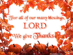for all of our many blessings lord we give thanks pictures