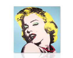 Marilyn Monroe Wall Decor Marilyn Painting Etsy