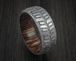 tire wedding ring tire tread ring etsy