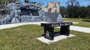 veterans memorial park tjk benches u2013 the jeep krewe inc