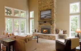 living room stunning living room design with fireplace inserts