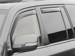 white lexus tinted windows weathertech side window deflectors for lexus lx 570 2008 2015