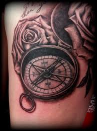 tattoo compass realistic compass realistic detailed tattoo by calebslabzzzgraham on deviantart