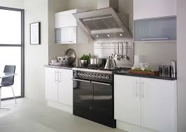 Black White Kitchen Cabinets by White Kitchen With Black Countertops Black Countertop And White