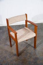 Danish Teak Armchair Teak Dining Chairs Antiques Ebay
