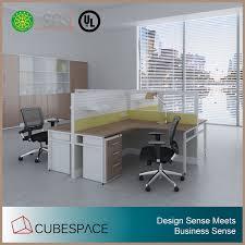 fabricant de bureau chine fabricant bureau meubles 4 places cabine de poste de travail