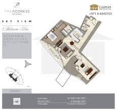 floor plans by address sky view tower 1 floor plans
