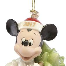 disney mickey mouse ornament trimming the tree 2017 lenox