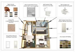 plain small house plans with mother in law suite simple floor