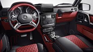 G Wagon 6x6 Interior 2018 Amg G 63 Suv Mercedes Benz