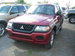 2003 mitsubishi montero information and photos zombiedrive