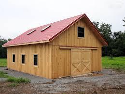 custom crafted wooden barn garage wooden custom built barn left side