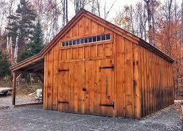 Overhead Barn Doors One Bay Garage Kit Garage Building Plans Jamaica Cottage Shop