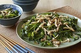 cuisiner des pois mange tout pousses de pois mange tout et chignons sautés au wok kraft canada