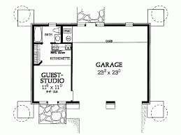 Studio Plans by Eplans Garage Plan Studio Garage 294 Square Feet And 1 Bedroom