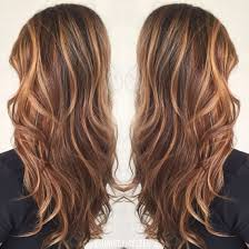 copper balayage copper hair brunette hair long hair curls