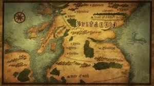 7 Kingdoms Map Britannia Nanatsu No Taizai Wiki Fandom Powered By Wikia