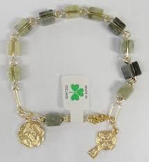 rosary bracelets the rosary bracelet made with genuine connemara marble