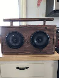 diy portable bluetooth boombox album on imgur