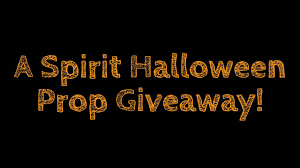 spirit halloween animatronic prop giveaway closed youtube
