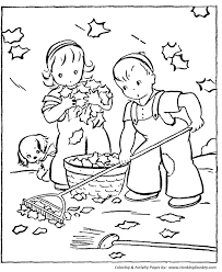 fall coloring pages kids fall clean coloring sheets