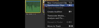 final cut pro vs gopro studio how to sync video with professional audio in final cut pro x