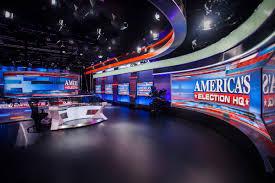 News Studio Desk by Fox News Studio F Set Design Gallery Game Show Set Design