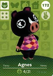 Homedesigner Nintendo Animal Crossing Happy Home Designer Amiibo Card Agnes 172