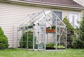 Palram Hybrid Greenhouse Amazon Com Palram Snap U0026 Grow 6 U0027 Series Hobby Greenhouse 6 X 8