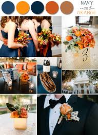 fall wedding color palette orange fall wedding together with navy with fall wedding