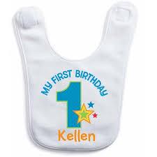 birthday bib personalized birthday bib for boy walmart