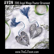 2016 wings pewter ornament more than makeup