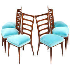 dining chairs blue dining chairs for home interior inspiration