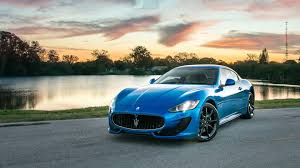 blue maserati maserati granturismo blue hd wallpapers
