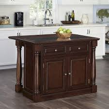kitchen islands pictures monarch cherry kitchen island with storage 5007 945 the home depot