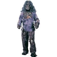 Halloween Scary Costumes Boys Amazon Zombie Complete Child Costume Small 4 6 Toys U0026 Games