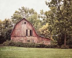 red barn photo barn wall art farmhouse wall decor rustic