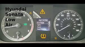 hyundai santa fe warning lights 2015 hyundai sonata exclamation point warning light youtube