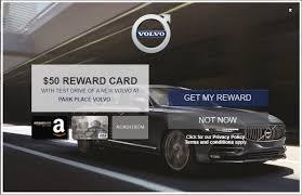 amazon gift card bonus black friday volvo test drive any new vehicle u0026 receive page 2 slickdeals net