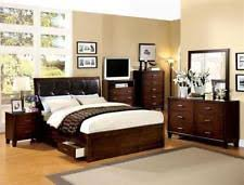 oak bedroom furniture sets with 4 pieces ebay
