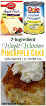 Weight Watchers Pumpkin Fluff Nutrition Facts by Weight Watchers 2 Ingredient Pineapple Angel Food Cake Recipe