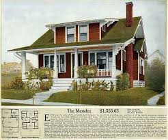 arts and crafts style home plans many arts crafts houses were built from kits manufactured by