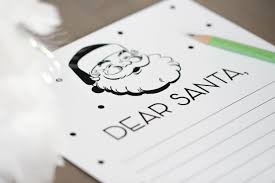 dear santa letter template free christmas freebie letters to santa free printables ff letter to santa the tomkat studio bw
