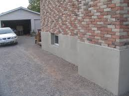 Cement Walls In Basement by Parging Applying A Mortar Coat To Control Leakage In Masonry