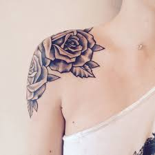shoulder several rose tattoo best tattoo ideas gallery