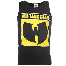 Wu Tang Socks Bandt Wu Tang Vest Sleeveless Round Neck