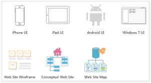 wireframe u0026 ui prototype tool for mac windows linux visio like