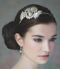 bridal headband bridal headbands bridal headband hairstyles for weddings